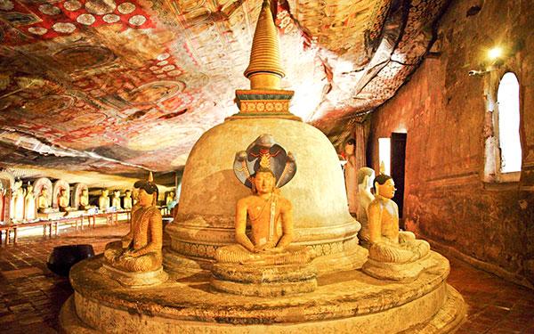 Negombo > Dambulla > Sigiriya